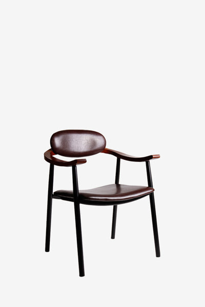 novel arm metal chair/일시품절