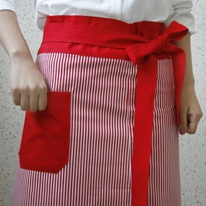 cafe apron red st